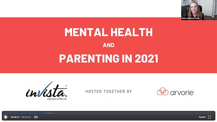 Mental Health and Parenting in 2021 zoom call